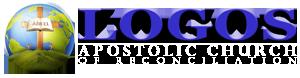 Logos Apostolic Church Logo - white